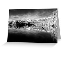Reflections Lake Beauvert Greeting Card