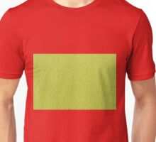 Bright green knitted fabric cloth texture Unisex T-Shirt