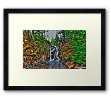 Black River Falls, Michigan HDR Framed Print