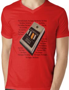 Remote Control Mens V-Neck T-Shirt