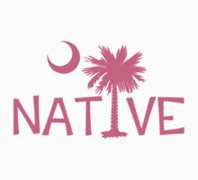 Pink South Carolina Palmetto Moon Native by PalmettoTrading