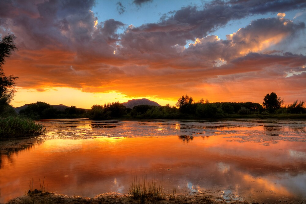 Sunset Surround by Bob Larson