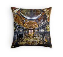 Hagia Sophia Throw Pillow