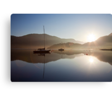 Glencoe, Scotland..with morning flare Canvas Print