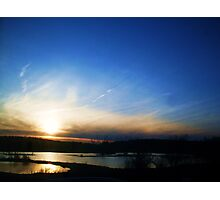 THE ALLEGHENY RIVER Photographic Print
