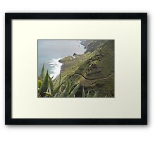 Stunning View on La Palma Island Framed Print