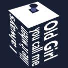 TARDIS Old Girl Inverse by Christopher Bunye