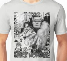 Rubbernorc Beer Monster Comic Collage Unisex T-Shirt