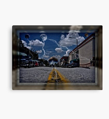 """ Invasion Earth "" Canvas Print"