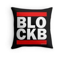 Block B Run DMC style Throw Pillow