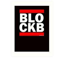 Block B Run DMC style Art Print