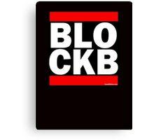 Block B Run DMC style Canvas Print