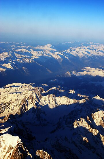 The Alps from Above by Cat Brady