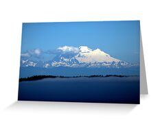 """Mount Baker"" Greeting Card"