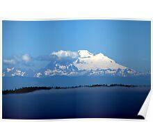 """""""Mount Baker"""" Poster"""