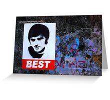George Best Wall Art Greeting Card