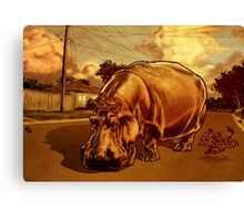 A Big Day Out.  Canvas Print