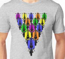 Pop Art Style scooters Unisex T-Shirt