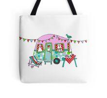 Cute Caravan/Trailer Tote Bag
