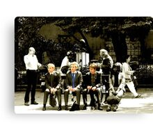 The Water Bottle Boys Canvas Print