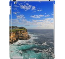 The Cliffs of Vaucluse! iPad Case/Skin