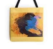 Orange, Black and Blue Tote Bag