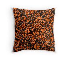 Halloween sprinkles Throw Pillow
