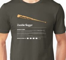 Zombie Weapons - Baseball Bat Unisex T-Shirt