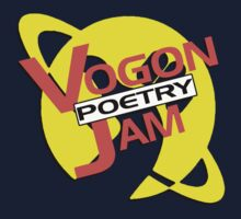 Vogon Poetry Jam (just logo) Kids Tee