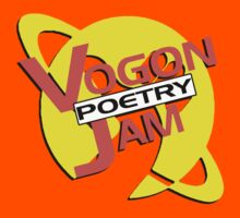 Vogon Poetry Jam (just logo) Kids Clothes