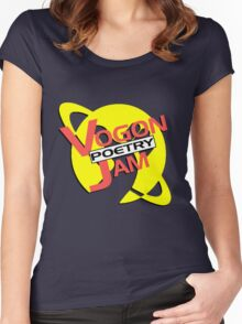 Vogon Poetry Jam (just logo) Women's Fitted Scoop T-Shirt