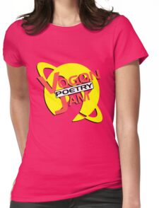 Vogon Poetry Jam (just logo) Womens Fitted T-Shirt