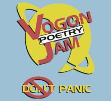 Vogon Poetry Jam Kids Clothes