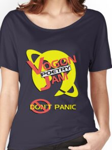 Vogon Poetry Jam Women's Relaxed Fit T-Shirt