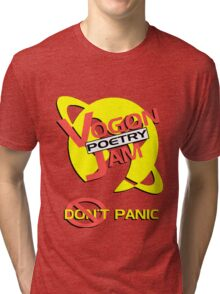 Vogon Poetry Jam Tri-blend T-Shirt