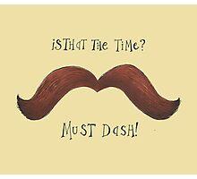 Must Dash! Photographic Print