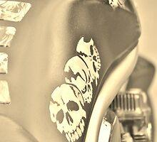 ghost rider - suzuki bandit motorbike by dawncox