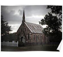 Presbyterian Church, Hill End, NSW Poster