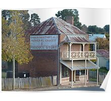 Northeys Store, Hill End, NSW Poster