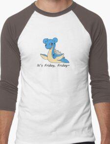 Friday Lapras Men's Baseball ¾ T-Shirt