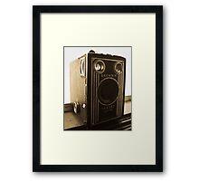 Brownie Six-16 Framed Print
