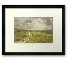 Walking Companions in Cumbria Framed Print