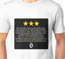Juve storia di un grande amore (black) Unisex T-Shirt
