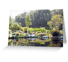 Colour reflection ... Greeting Card