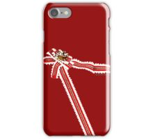 Lonely Christmas wrapping shirt iPhone Case/Skin