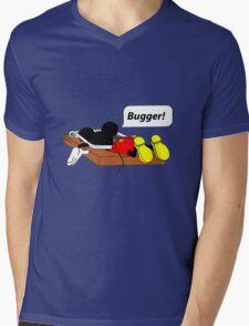 That's all folks! Mens V-Neck T-Shirt