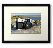 Olympus 35RD Framed Print