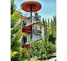 The Spiral Staircase . Photographic Print