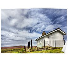 Shooting Cabin - Hayfield Poster