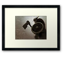 Frost Giant Framed Print